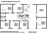Saufiville Janda Baik Resort Floor Plan